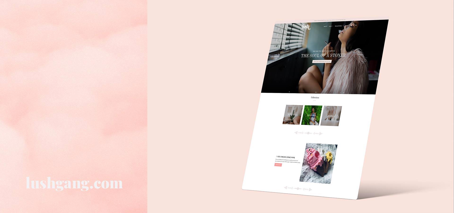 head shop Shopify website