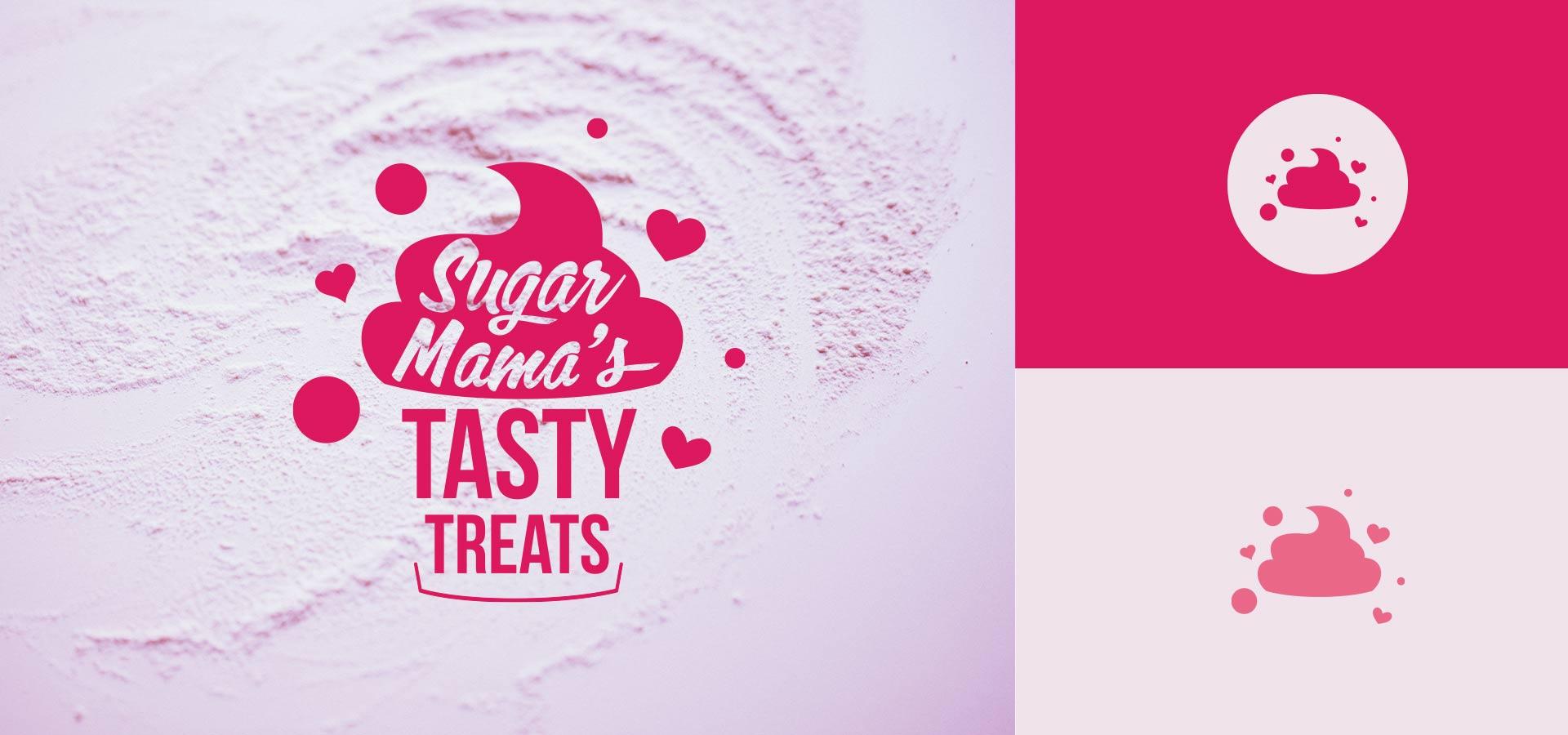 cupcake bakery branding logo design