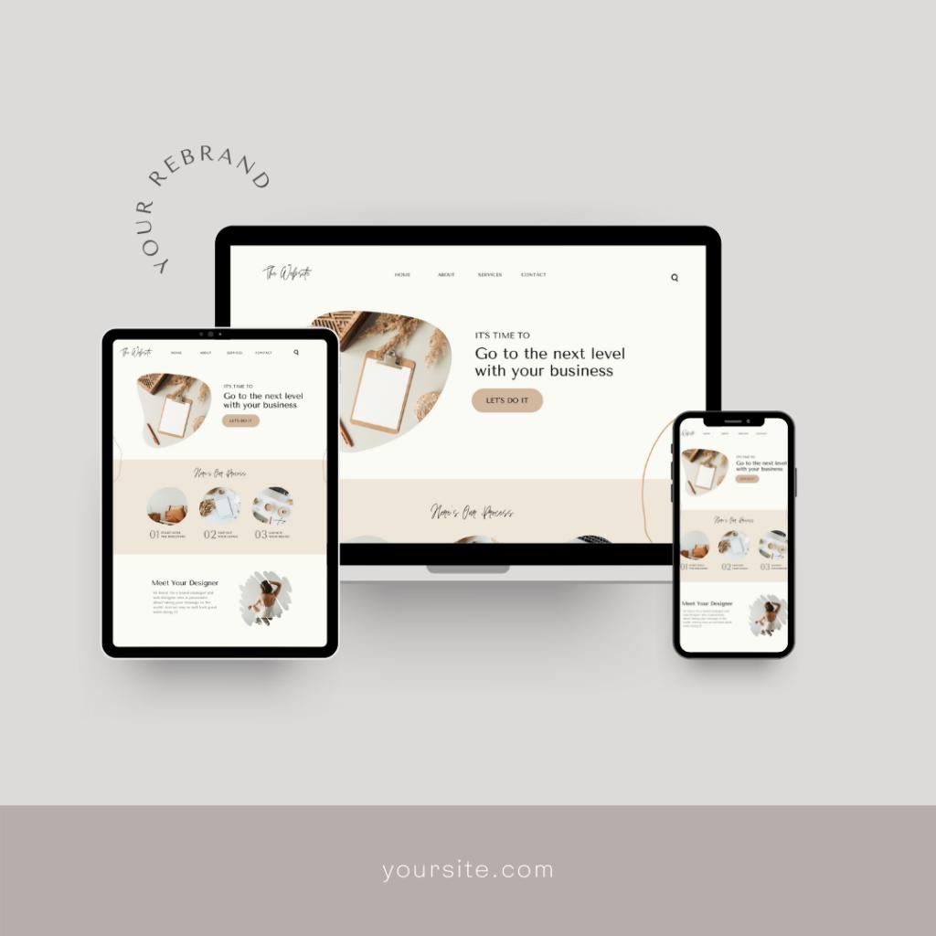 New Website Launch Design